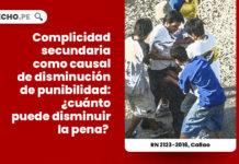 complicidad-secundaria-causal-disminucion-punibilidad-recurso-nulidad-2123-2018-callao