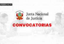 convocatoria -JNJ -LP