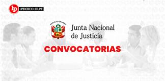 convocatoria -JNJ -LP