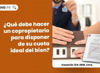 copropietario-disponer-cuota-ideal-del-bien-casacion-314-2018-lima-LPDERECHO