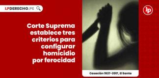 corte-suprema-tres-criterios-configurar-homicidio-ferocidad-LP