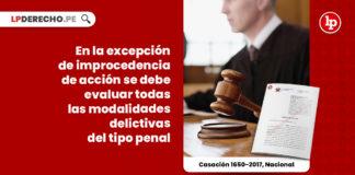 excepcion-improcedencia-accion-evaluarse-modalidades-delictivas-plantea-tipo-penal-casacion-1650-2017-nacional-LP