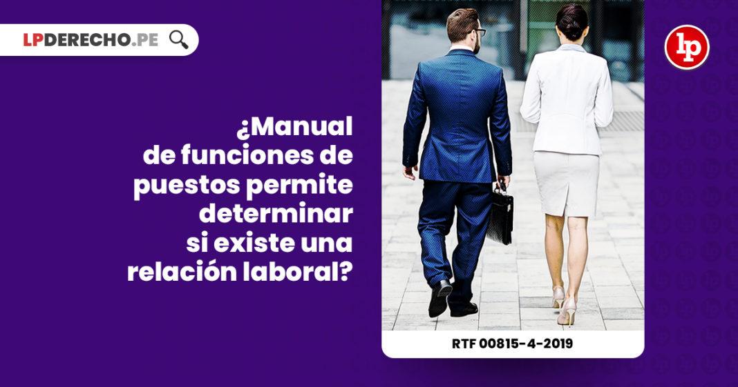 manual-funciones-puestos-relacion-laboral-resolucion-tribunal-fiscal-00815-4-2019-LP