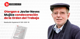 otorgan a Javier Neves Mujica condecoracion de la orden del trabajo-LP