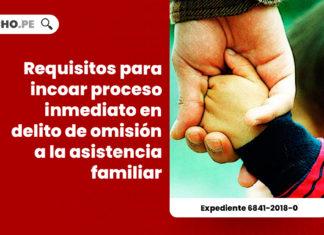 requisitos-incoar-proceso-inmediato-delito-omision-asistencia-familiar-expediente-6841-2018-0-LP