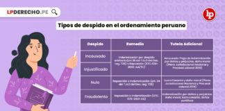 tipos-despido-ordenamiento-peruano-LP