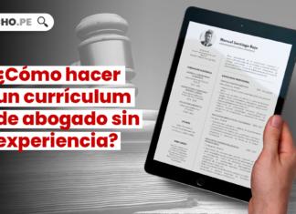 Como hacer un curriculum vitae de abogado sin experiencia con logo de LP