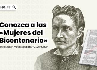 Conozca a las «Mujeres del Bicentenario» [Resolución Ministerial 159-2021-MIMP]