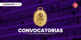 Convocatorias Ministerio Publico con logo de LP