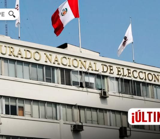 Jurado Nacional de Elecciones - JNE - LP