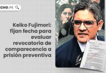Keiko Fujimori: fijan fecha para evaluar revocatoria de comparecencia a prisión preventiva con logo de LP