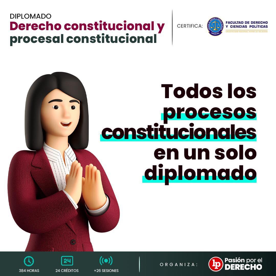 Diplomado Derecho constitucional y procesal constitucional