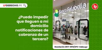 banco-remitir-notificaciones-domicilio-tercero-resolucion-2017-2016-spc-indecopi-LP