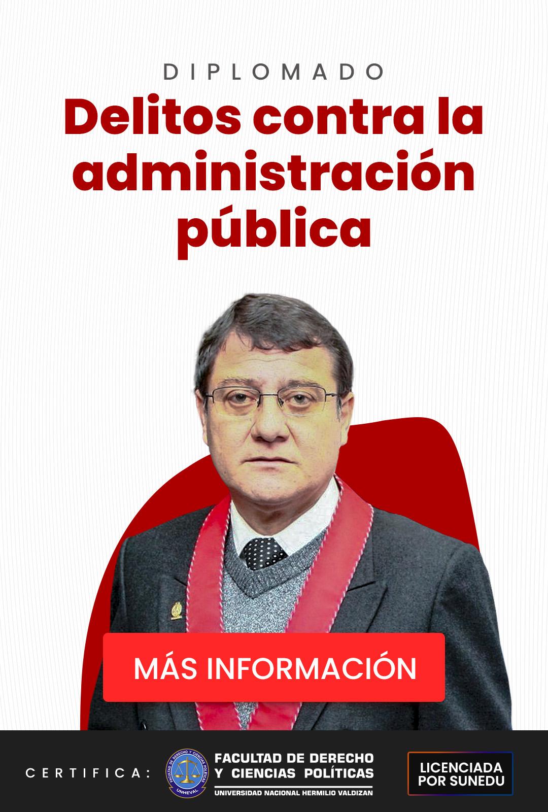 dr chavez cotrina en el diplomado con la administracion publica mas informacion
