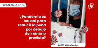 contexto-pandemia-criterio-valido-reduccion-pena-recurso-nulidad-835-2020-lima-sur-LP