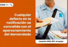 cualquier-defecto-en-la-notificacion-se-convalida-con-el-apersonamiento-del-demandado-casacion-4938-2017-arequipa-LP