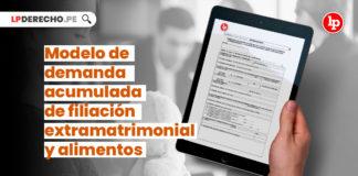 formulario-demanda-acumulada-filiacion-extramatrimonial-alimentos-LP