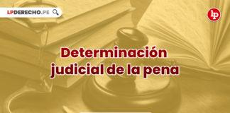 jurisprudencia-principio-determinacion-judicial-pena-LP