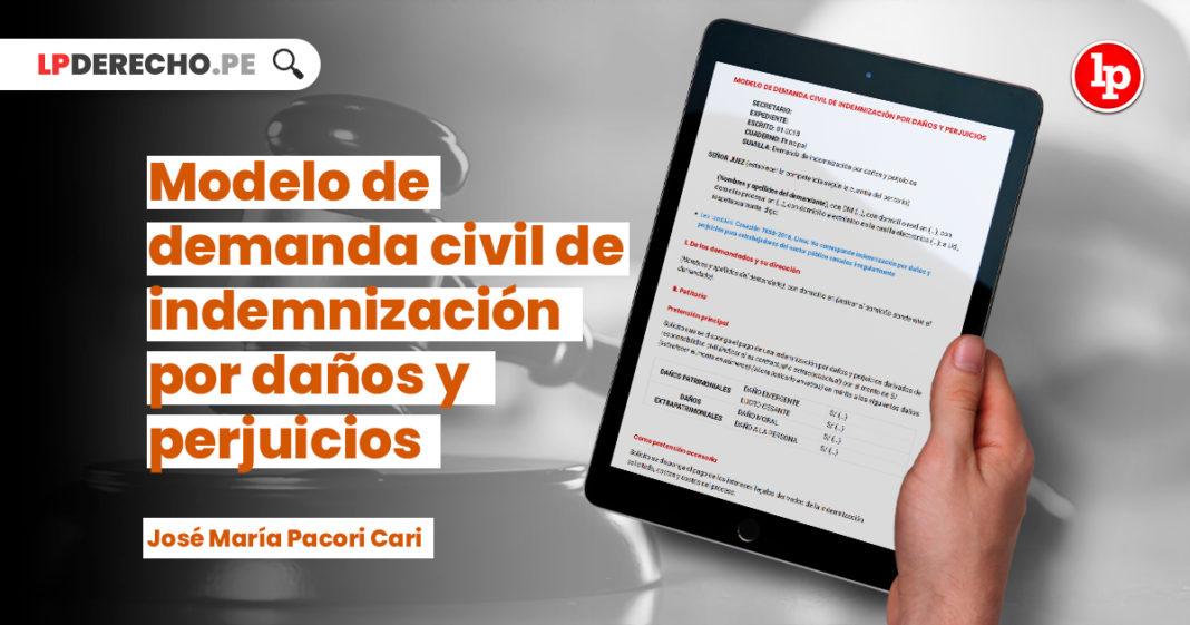 modelo-demanda-civil-indemnizacion-danos-perjuicios-pacori-cari-LP