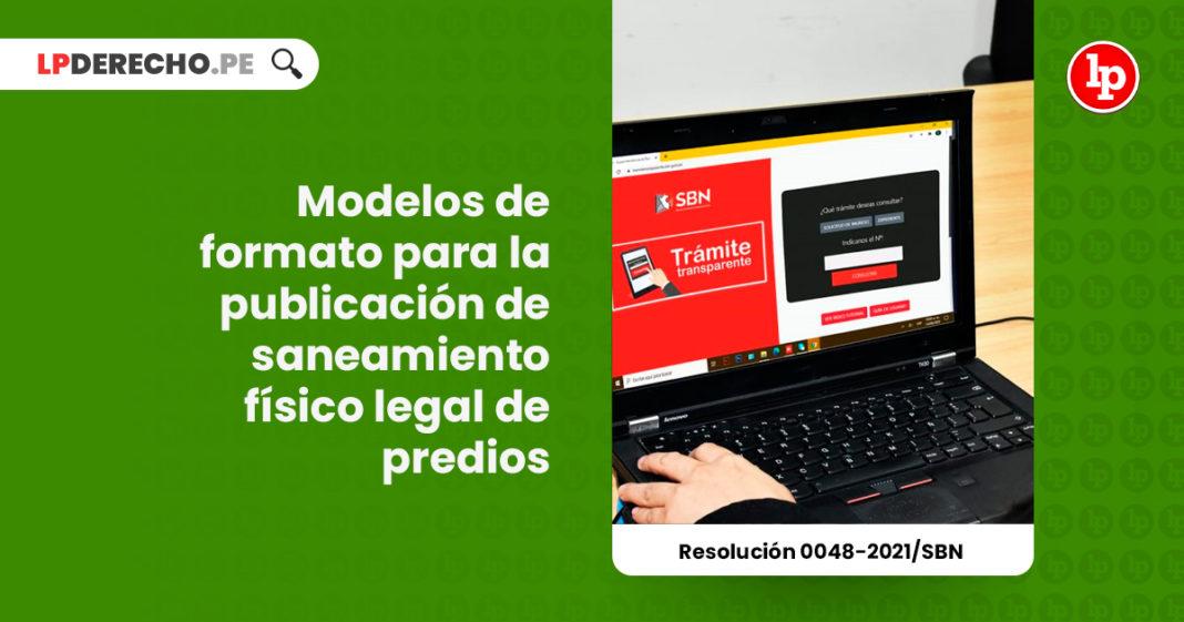 modelos-formato-publicacion-saneamiento-fisico-legal-predios-inmuebles-resolucion-0048-2021-sbn-LPDERECHO
