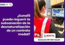 sunafil-requerir-subsanacion-desnaturalizacion-contrato-modal-resolucion-209-2021-sunafil-LP