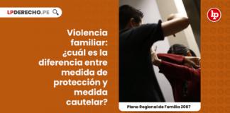 violencia-familiar-medida-proteccion-pleno-jurisdiccional-regional-familia-2007-LPDERECHO