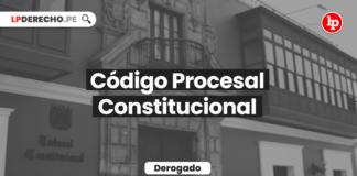 Código Procesal Constitucional (Ley 28237)