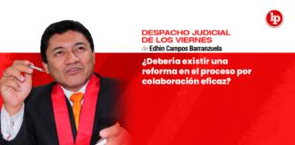 ¿Debería existir una reforma en el proceso por colaboración eficaz?