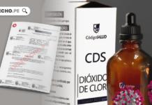 Dioxido de cloro proyecto de ley con logo de LP