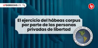 El ejercicio del hábeas corpus por parte de las personas privadas de libertad - LP
