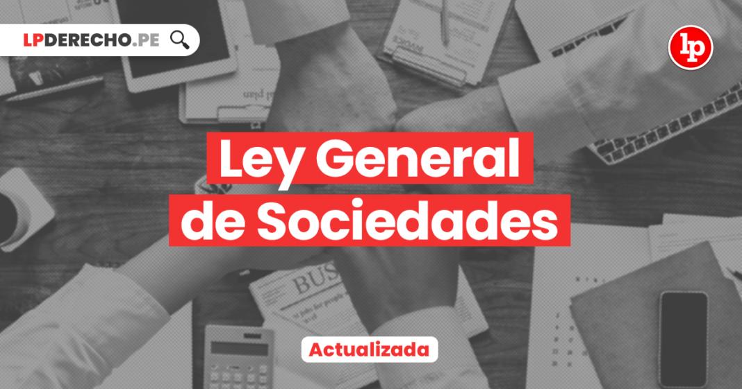 Ley General de Sociedades • Ley 26887