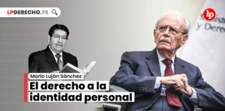 El derecho a la identidad personal: un concepto pionero y un aspecto problemático a la luz del pensamiento del maestro Carlos Fernández Sessarego