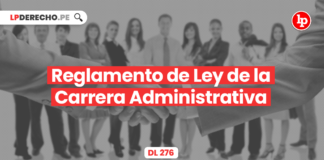 Reglamento de Ley de la Carrera Administrativa (DL 276)