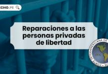 Reparaciones a las personas privadas de libertad - LP