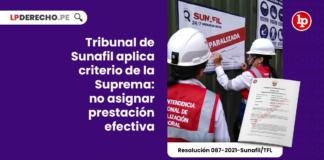 Tribunal de Sunafil aplica criterio de la Suprema: no asignar prestación efectiva constituye hostilidad
