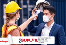 Sunafil equipo protección covid con logo de LP