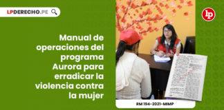manual-operaciones-programa-aurora-erradicar-violencia-mujer-resolucion-ministerial-194-2021-mimp-LP