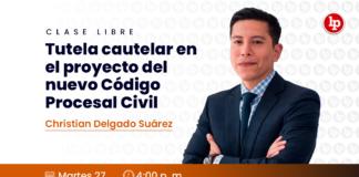 Clase libre sobre tutela cautelar en el proyecto del nuevo Código Procesal Civil