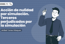 Acción de nulidad por simulación. Terceros perjudicados por la simulación