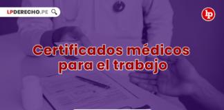 Certificados médicos para el trabajo