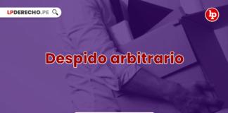 Despido arbitrario-LP