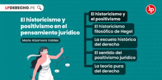 El historicismo y positivismo en el pensamiento jurídico-LP