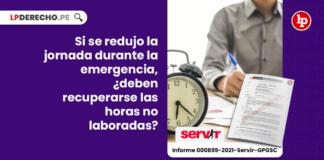 Si se redujo la jornada durante la emergencia, ¿deben recuperarse las horas no laboradas?