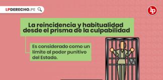 ¿Son legítimas las agravantes cualificadas de reincidencia y habitualidad en el ordenamiento jurídico peruano? Breve análisis desde el prisma del principio de culpabilidad con logo de LP