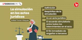 La simulación en los actos jurídicos
