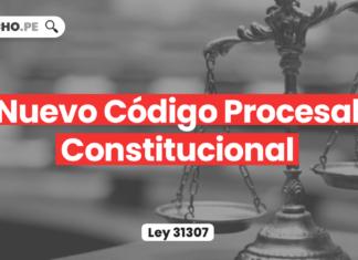 Nuevo Código Procesal Constitucional