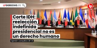 Corte IDH: reelección indefinida presidencial no es un derecho humano