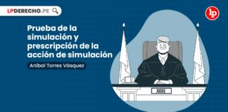 Prueba de la simulación y prescripción de la acción de simulación