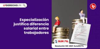 Especialización justifica diferencia salarial entre trabajadores