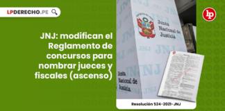 JNJ: modifican el Reglamento de concursos para nombrar jueces y fiscales (ascenso)